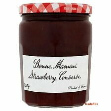 Bonne Maman French Strawberry Conserve and Raspberry Conserve 750g