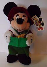 Walt Disney World Mouseketoys Christmas Caroling Minnie Mouse