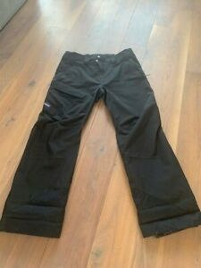 Mens Patagonia Powder Bowl Pants Black Goretex L  (USED 4 TIMES)