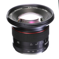 Meike 12mm F2.8 Super Wide Angle Fisheye Lens MF For CANON EF-M EOS M M6 M100 M5