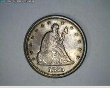 1875-S Twenty Cent ( 50-329 10m/o )