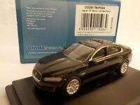 Oxford Diecast Model Car, Jaguar XF, Black, 1/76 New