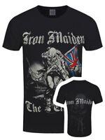 Iron Maiden T-shirt Sketched Trooper Men's Black