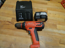 Milwaukee PLD 12X Cordless Combi Drill with battery and charger