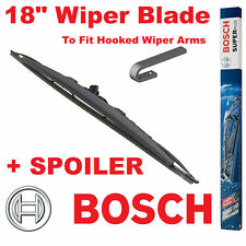 """Bosch 18"""" Inch Super Plus Universal SPOILER Wiper Blade SP18S For Hooked Arms"""
