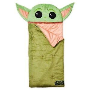 Star Wars Mandalorian Baby Yoda Super Soft 2 in 1 Pillow/Sleeping Bag