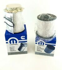 2019 2020 Ram 2500 3500 4500 Mopar Diesel Fuel Filter Set 68436631AA 68157291AA