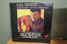 CARL PERKINS - COUNTRY BOY'S DREAMS - 1968 ORIGINAL ON LONDON - RARE MONO