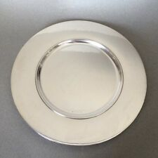 Georg Jensen Sterling Silver Set of 14 Service Plates No. 587C by Johan Rohde