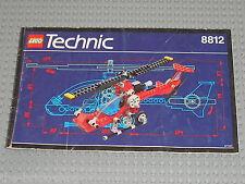Notice building instruction booklet LEGO TECHNIC Set 8812  Aero Hawk II