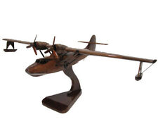 Consolidated PBY Catalina Flying Boat Navy WWII Airplane Search Wooden Model