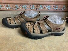 Mens Sz 10/43? Keen Brown Leather Sandals