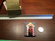Vintage Avon Christmas Toy Soldier Pin with Card