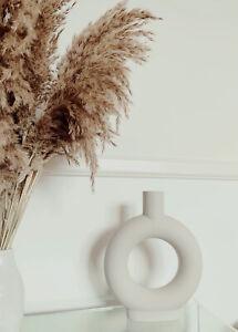Donut round Vase Ceramic Nordic
