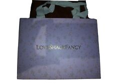 Love Shack Fancy Pink Paper Shopping  Bag