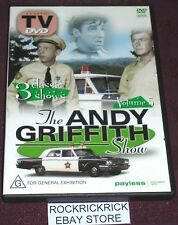 THE ANDY GRIFFITH SHOW VOLUME 5 DVD (3 EPISODES) REGION PAL