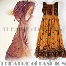 VINTAGE DRESS CLOTHKITS 60s FOLK 70s BOHO VICTORIAN 6 8 10 GYPSY ARTISAN HIPPY