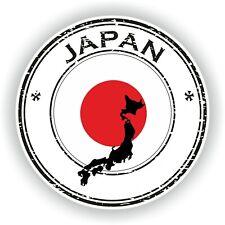 Japón Sello Sello Pegatina para Coche Camión Portátil Tablet Nevera Puerta