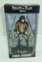 Attack on Titan Eren Jaeger Action Figure with Base + Swords McFarlane Toys