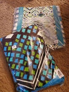 vera bradley Canvas Beach Tote and Towel Rain Forest  NWT