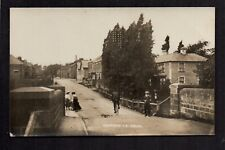 Howden le Wear Village, near Crook - real photographic postcard.