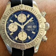 BREITLING SUPEROCEAN CHRONOGRAPH 500M REFERENCE A13340 WATCH 100% GENUINE