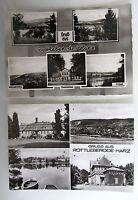 2x Postkarte von Rottleberode im Harz s/w Ansichtskarten ungelaufen ungebraucht