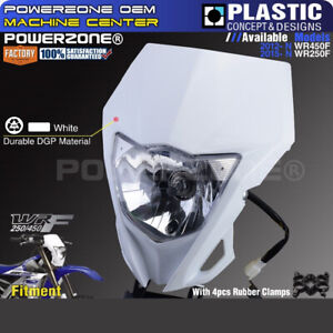 Motorcycle Bike MX Headlight Headlamp For YAMAHA WR250F 2015-2019 WR450F 2012-19