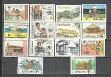 S8833 - TANZANIA 1984 - LOTTO 14 TEMATICI DIFFERENTI - VEDI FOTO