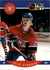 1990-91 PRO SET HOCKEY PETR SVOBODA CARD #161 MONTREAL CANADIENS NMT/MT-MINT