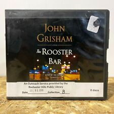 The Rooster Bar by John Grisham Ex Library 8 CD Unabridged Audiobook Free Ship