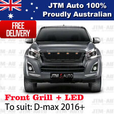 New Front Grille Grill Black with LED to suit Isuzu D-max Dmax  2016-2019