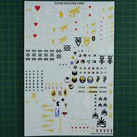 Eldar Decals Transfers sheet Abziehbilder  Warhammer 40K Bitz  6058