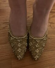 e9af73f2596e8 Heels Gold Vintage Shoes for Women for sale | eBay
