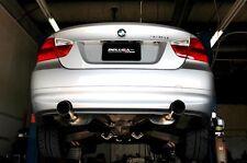 BMW 07-10 N54 E90 E92 335i Twin Turbo True Dual Catback Exhaust Sedan / Coupe
