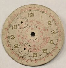 Cimier Sport Chronograph watch dial