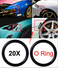 20 PCS BILLET BUMPER TRUNK QUICK RELEASE FASTENER KIT REPLACEMENT RUBBER O RING