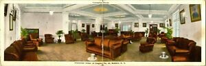 """Antique Postcard  BUFFALO NY  """"FRATERNAL ORDER OF THE EAGLES""""  LOUNGING ROOM"""