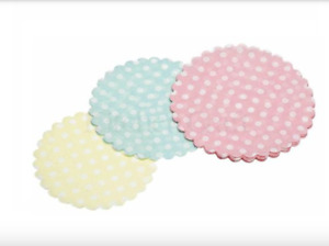 Kitchen Craft Sweetly Does It Cupcake Doilies Pack of 30 KCCUPDOILPK3 Fairy Cake