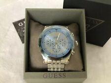 GUESS U1104G4 Men's Chronograph Stainless Steel Bracelet Watch 46mm