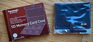 Panasonic Memory Card Case Holder 6 Slots SD Cards - New