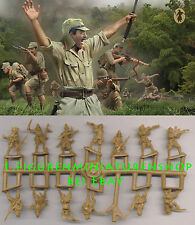 1:72 FIGUREN M114 Japanese Troops in Tropical Uniform - STRELETS