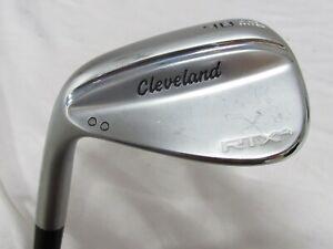 Used LH Cleveland RTX 4 Single 48* Wedge - Stiff Flex Steel