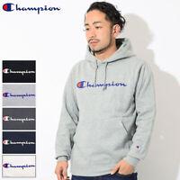 CHAMPION JAPAN LINE Script Basic Logo Fleece Pullover Hoodie Sweatshirts C3-L122