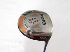 Used RH Ping G10 10.5* Driver Grafalloy blue 65 Graphite Stiff Flex S-Flex +HC