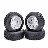 4X 1:10 Scale Rally Tires&Wheel 12mm Hex For HPI HSP RC On Road Racing Car
