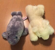 "Aurora Plush Manatee And Polar Bear 8"""