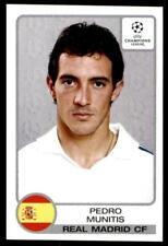 Panini Liga de Campeones 2001-2002 Pedro exceptuamos Real Madrid Nº 18