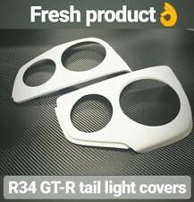 GTR Tail Light Covers for Nissan Skyline R34 Rear Light Conversion v8
