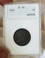 1809/6 1/2C Classic Head Half Cent Old ANA Holder PREMIUM QUALITY
